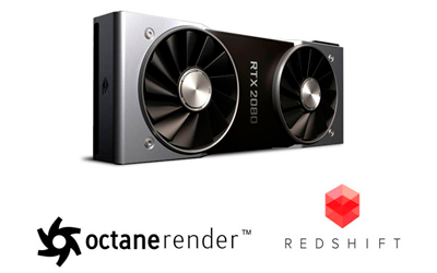 Rendimiento y Escalado Multi-GPU en Octane y Redshift con Geforce RTX