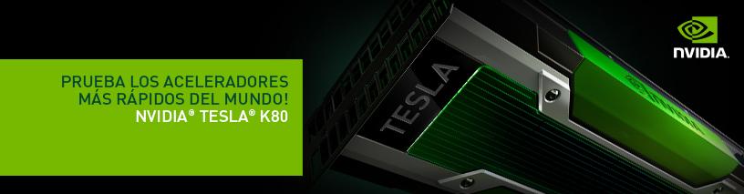 NVIDIA Tesla K80 GPU Test Drive
