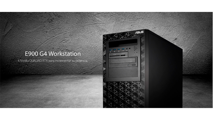 ASUS anuncia la Workstation E900 G4