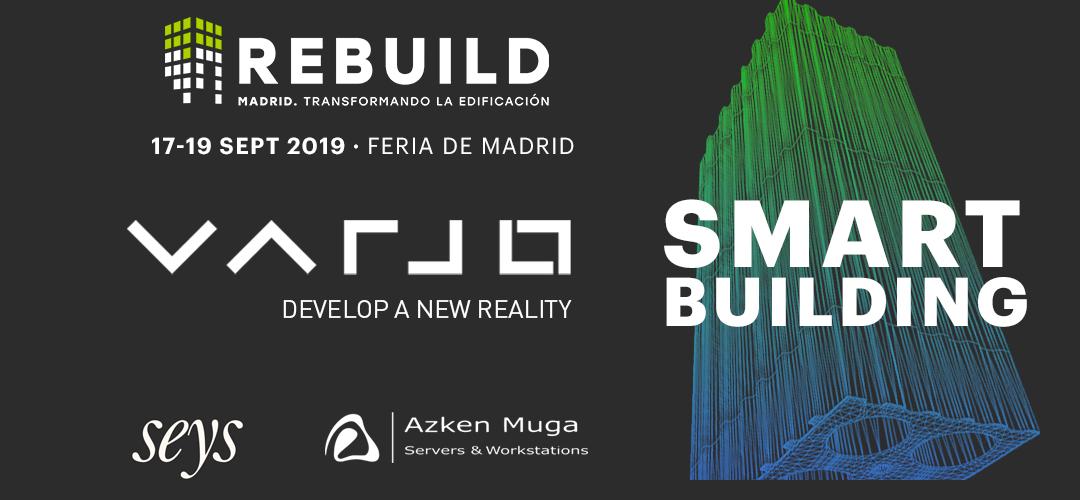 REBUILD 2019 | Presentación Varjo VR System
